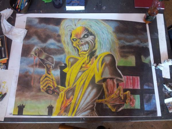 Iron Maiden by rockart